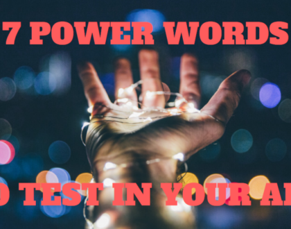 7 Power Words & Phrases to Test in Your Facebook Ads