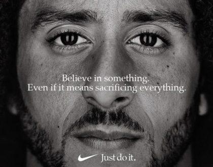 brand story Colin Kaepernick ad