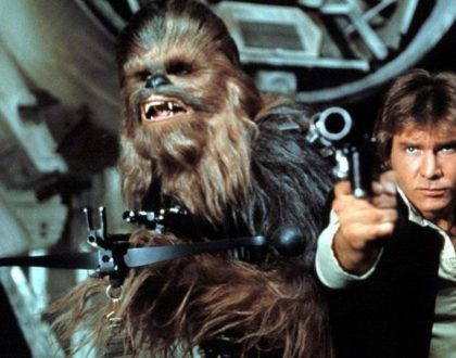 Han Solo and Chewy