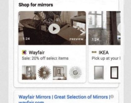 video shopping ads