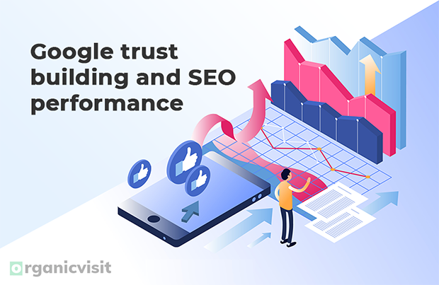 Google trust building and SEO performance